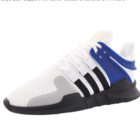 Boys Adidas EQT Support , Off White.